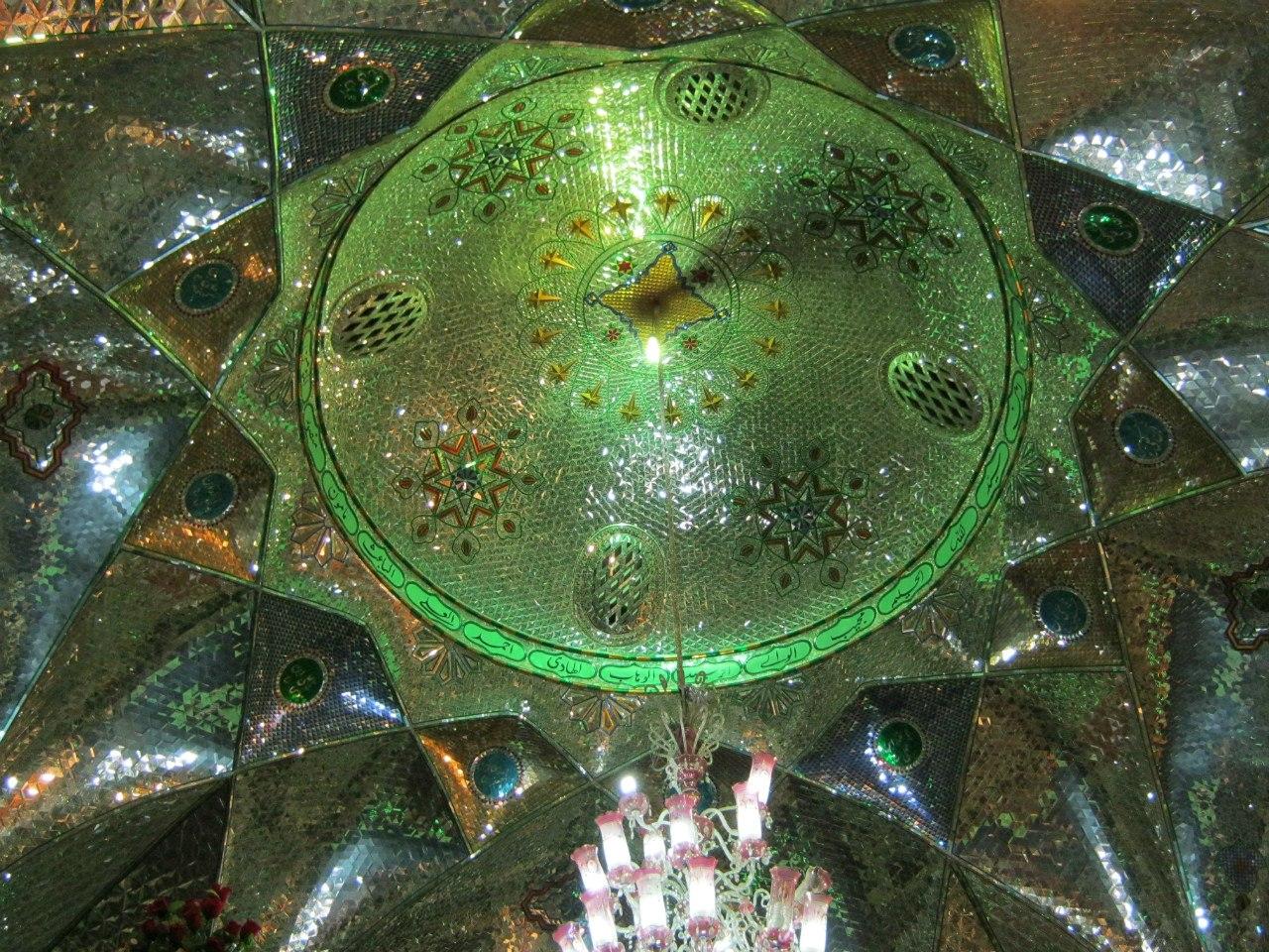 потолок Имамзаде в Тегеране