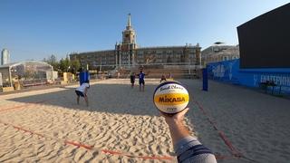 Волейбол от первого лица | Россия - Екатеринбург | Площадка к запуску часов за 365 дней до Чемпионата мира FIVB 2022 в России