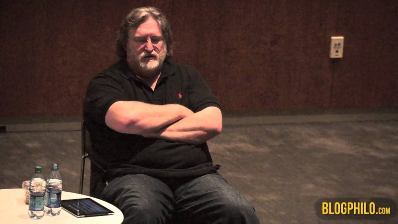 Gabe Newell at LBJ School Second Session