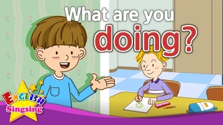 [What] What are you doing? - Exciting song - Sing along