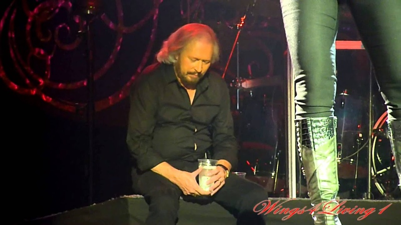Woman In Love - Barry Gibb enjoying Beth Cohen - Mythology Tour - London, 3rd 2013