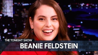 Beanie Feldstein Accidentally Manifested Scoring the Lead Role in Funny Girl | The Tonight Show