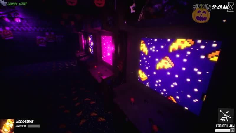 The NeptooN ХЭЛЛОУИН В ФНАФ СИМУЛЯТОРЕ 🎃 ХЭЛЛОУИНСКИЕ АНИМАТРОНИКИ ФОКСИ И БОННИ ▶️ FNAF Simulator 2 1 4