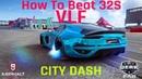 Asphalt 9   Car Hunt: Nissan GT-R Nismo   How to beat 32S with VLF Force 1 V10   28.637 City Dash