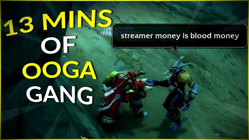 WoW Classic 13 MINUTES OF OOGA GANG