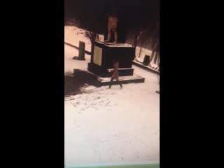 В Красном Селе две 13-летние девочки попали в полицию после того, как закидали снегом Вечный огонь