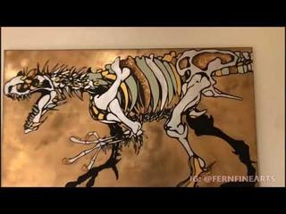 The Art of Kris Van Damme @FERNFINEARTS