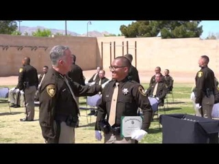 Graduation Day!  54 new LVMPD Police Officers get their Badges!
