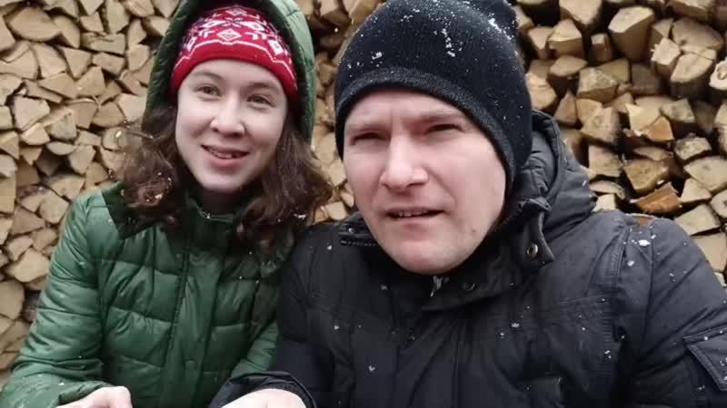 Татьяна Милютина и Евгений Сорокин БИ 2 и Чичерина Падает снег