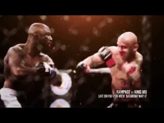 Bellator MMA: Rampage Jackson vs. King Mo LIVE on Pay Per View May 17th