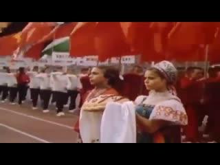40 лет назад состоялось открытие Олимпиады в Москве