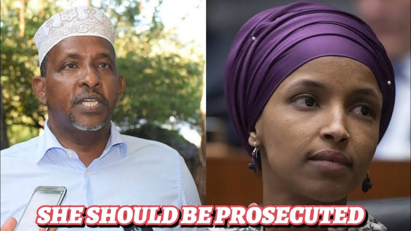 SHE SHOULD BE HANGED! Somali Community Chairman OBLITERATES Ilhan Omar Over SHAM Marriage!
