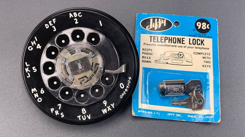 1084 This Lock Could Save A Month s Wages in 1960 Jiffy Phone Lock