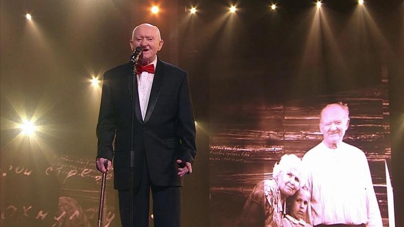 Победителем суперпроекта Голос 60 стал 97 летний Михаил Серебряков