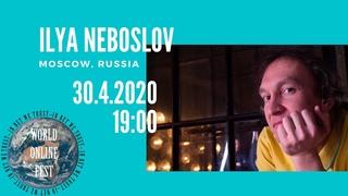 ANNOUNCEMENT Илья Небослов //  Ilya Neboslov