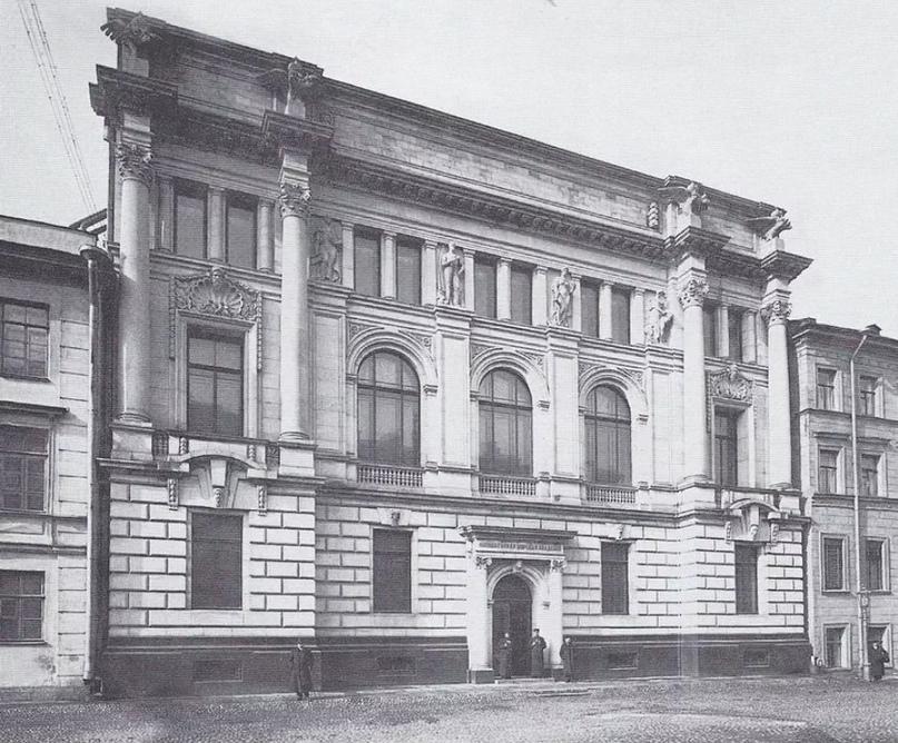 К.К. Булла. Здание Николаевской морской академии, 1913 год