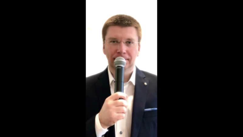 Стихотворение Открой свои ладони Небу 2020 г Читает автор Владимир Добролюбов