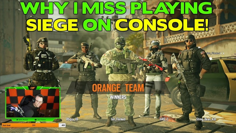 Siege on Console Versus PC What's the Difference