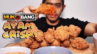 MUKBANG ASMR AYAM CRISPY PEDAS INDONESIA 2021 | MIRAOS TV