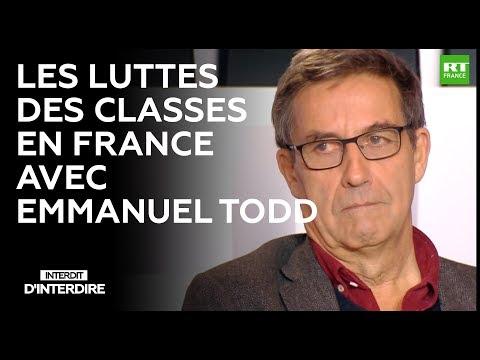 Interdit d'interdire Les Luttes des classes en France avec Emmanuel Todd