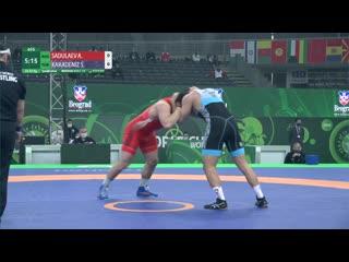 Квалификация: Абдулрашид Садулаев (Россия) - Сулейман Карадениз (Турция)
