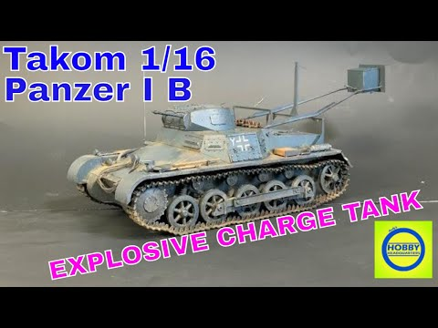 Building Painting and Weathering The 1 16 Takom Panzer I B BIG SCALE FUN
