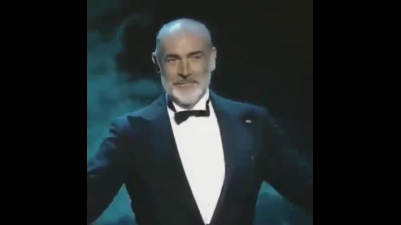 Gorgeous Sean Connery is gone - lets give him a round of applause.