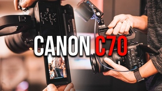 Canon EOS C70 first impression and comparison to the C300 III