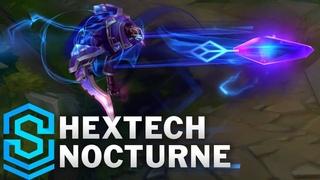 Hextech Nocturne Skin Spotlight - Pre-Release - League of Legends