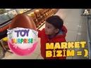Süper Ömer Marketi Birbirine kattı Bi sürü Abur Cubur videosu Eğlenceli Çocuk Videoları