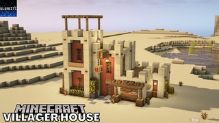 Minecraft Tutorial | Leatherworker Villager House | How to build |