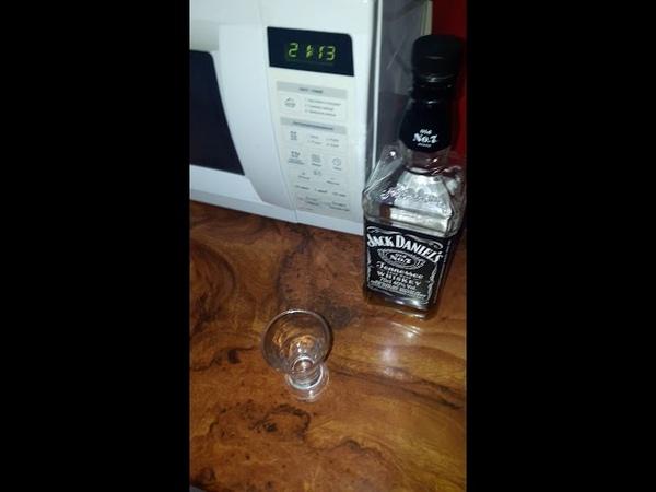 Jack Daniels Вискарь и микроволновка