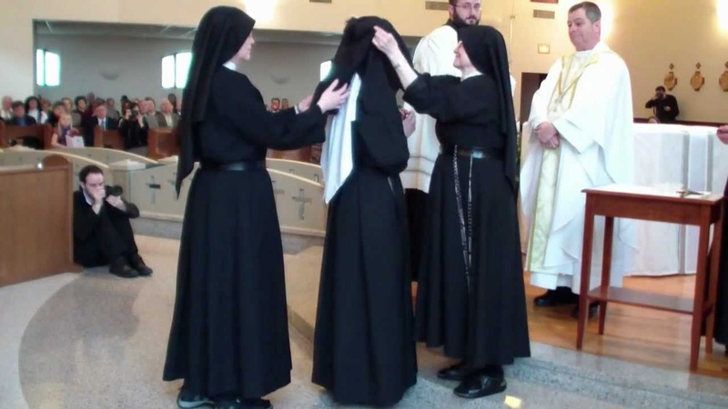 Passionist Nuns Vows Perfect Veil HD