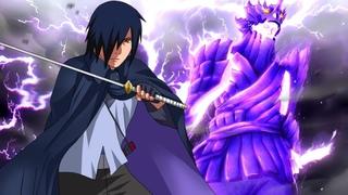 Саске показывает всю свою Силу и спасает Сакуру | Наруто и Саске против Шина