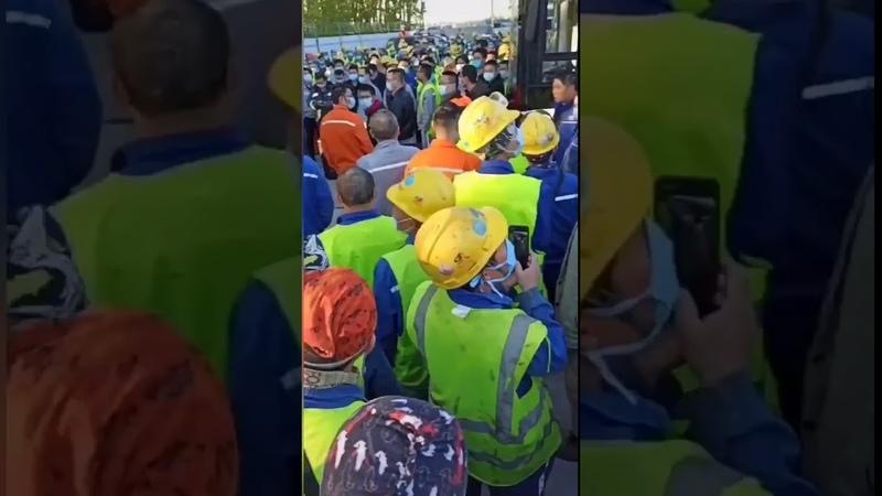 参与俄罗斯DCC项目的中国化学工程第七建设有限公司的中国籍工人,罢工已经进入第三天,他们的诉求是回国