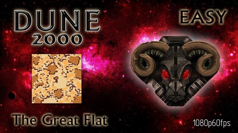 Dune 2000 Skirmish The Great Flat Harkonnen Easy 1080p60fps