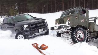 УБИЙЦА ГРУЗОВИКОВ! Новый Ford F 150 Raptor утёр ГАЗ 66 на бездорожье! ЗИЛ, Jeep, Toyota, УАЗ Нива