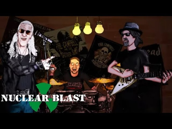 PHIL CAMPBELL - These Old Boots Feat. Dee Snider, Mick Mars Chris Fehn (OFFICIAL VIDEO)