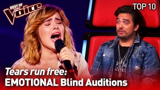 The most EMOTIONAL Blind Auditions on The Voice #2 | TOP 10