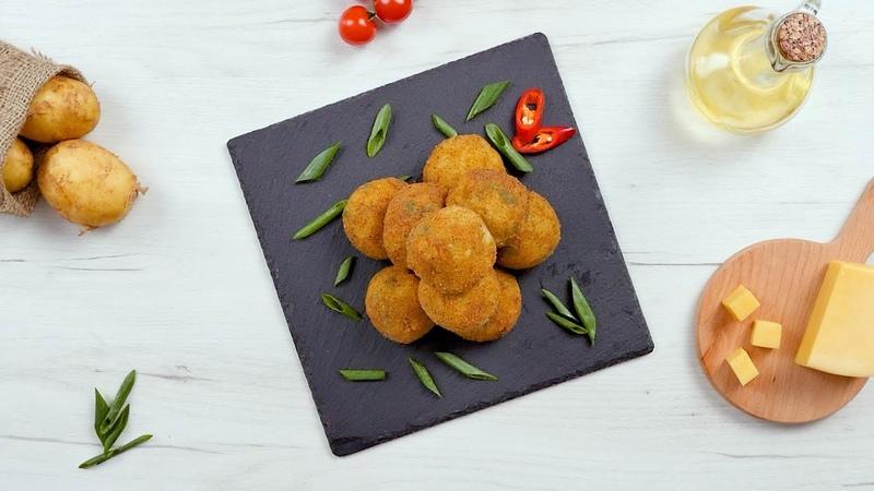 Картофельные шарики с сыром Рецепты от Со Вкусом