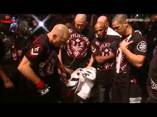 "Georges ""Rush"" St-Pierre UFC 154 Walkout"