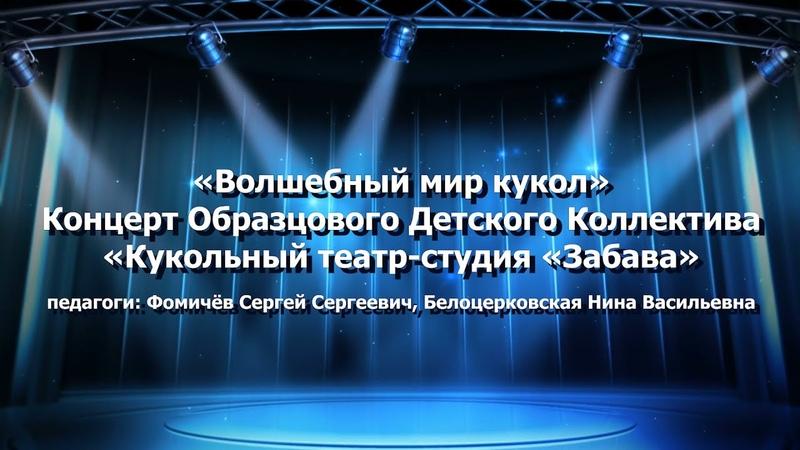Волшебный мир кукол концерт ОДК Кукольный театр студия Забава № 8 © МАУ ДО ЦДТ Импульс