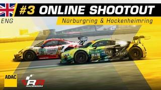 ADAC GT Masters Esports 2020 | Shootout 3 | English Stream