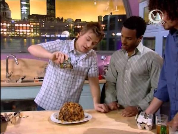 Жить вкусно с Джейми Оливером 1 серия Рыбу и чипсы готовим дома