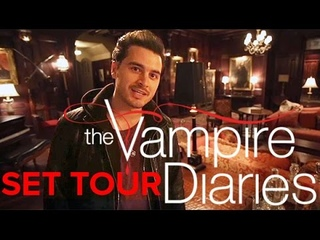The Vampire Diaries: Take a tour of the set (Damon's bedroom included!)