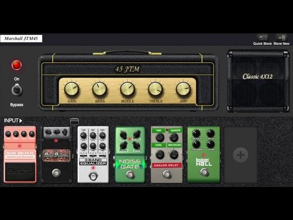 Digitech RP360 XP Demo-4 (1980's Sound) - Vox, Marshall, Fender, Digitech, Hiwatt, Amp Models