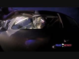 Bodycam captures suspect pulling gun on female cop before getting shot