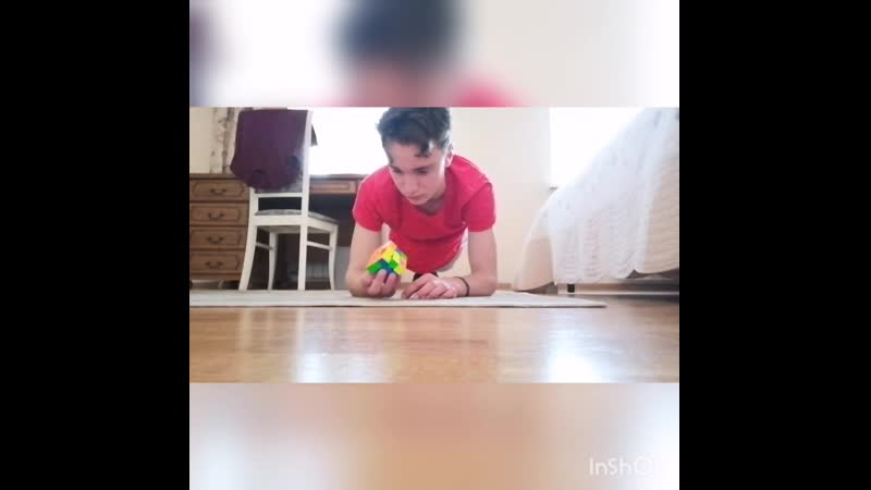 Собрать Кубик Рубика в планке