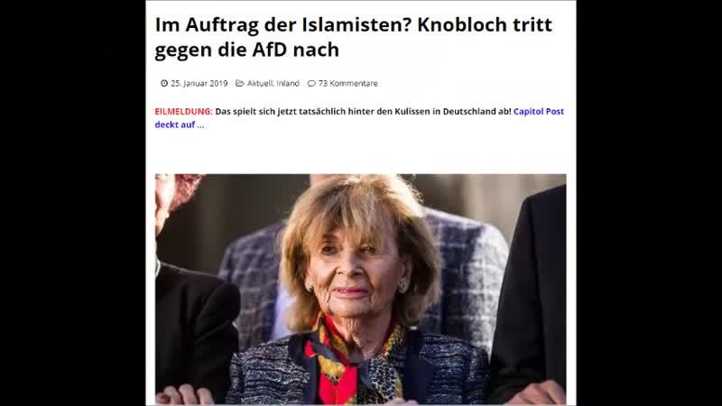 EILMELDUNG..Das spielt sich jetzt tatsächlich hinter den Kulissen in Deutschland ab! Capitol Post deckt auf …