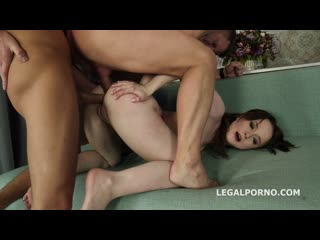 Legal Porno - That a DAP, isnt it Sweetie Plum first time 2 dicks in the ass with Balls Deep Anal, DAP, Gapes and Facial GL